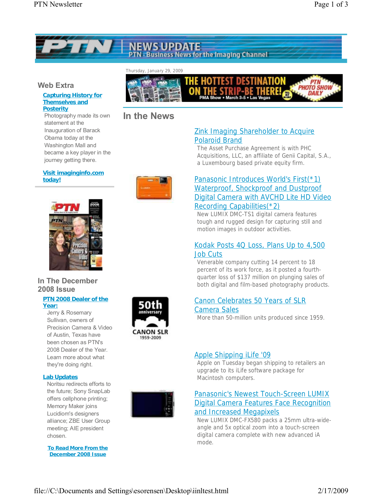 pdf for Panasonic Digital Camera Lumix DMC-TS1 manual