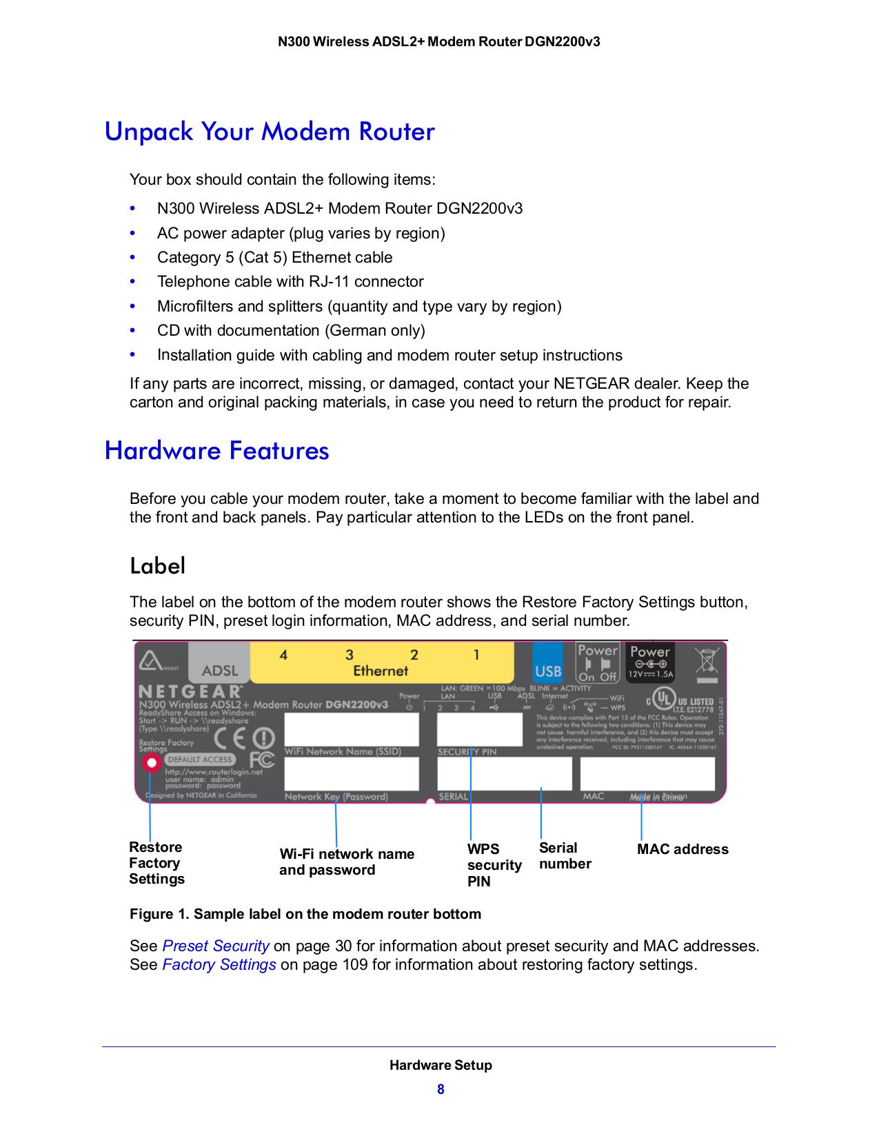 PDF manual for Netgear Wireless Router DGN2200