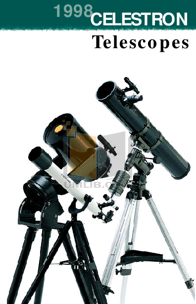 Celestron FirstScope 76 User Manual Download
