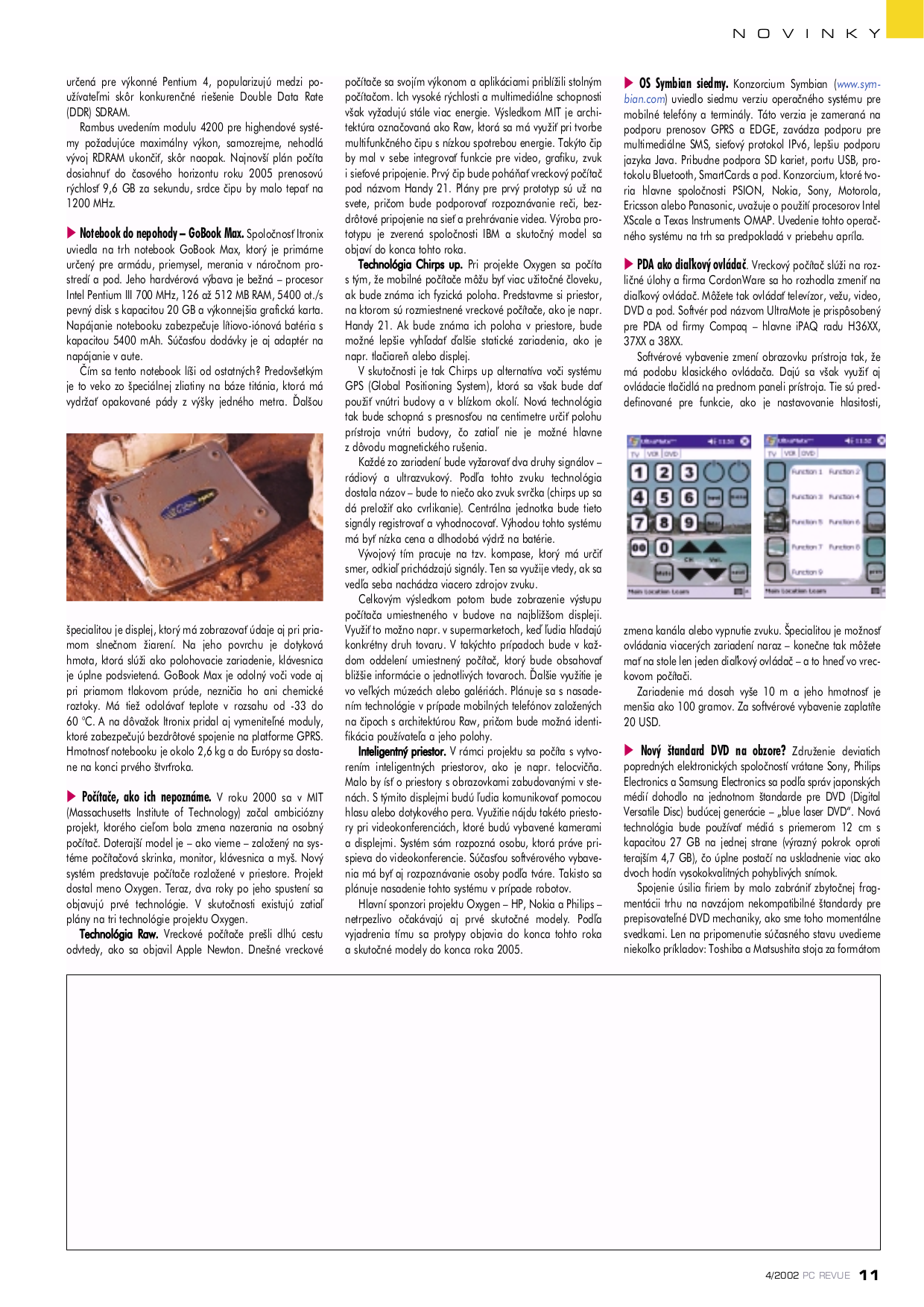 Itronix PDA GoBook Q-100 pdf page preview