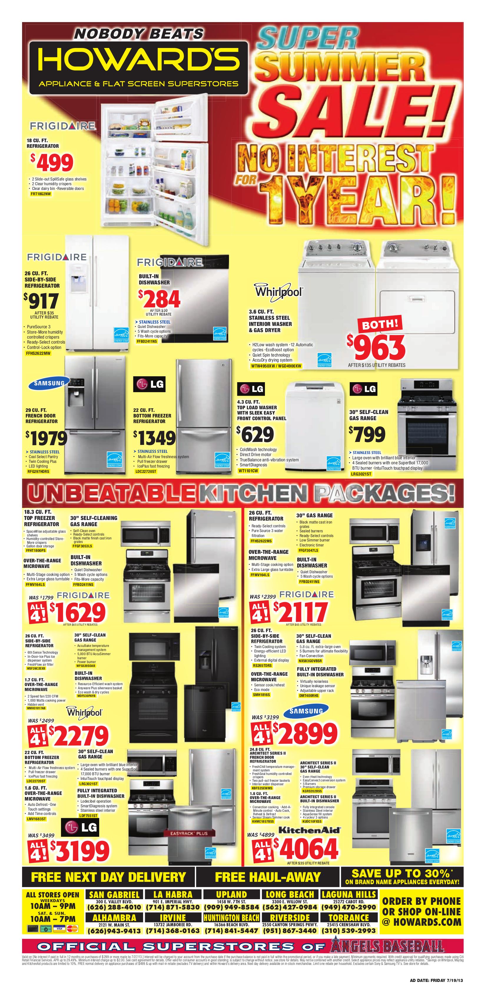 pdf for Samsung Refrigerator RS265TDRS manual