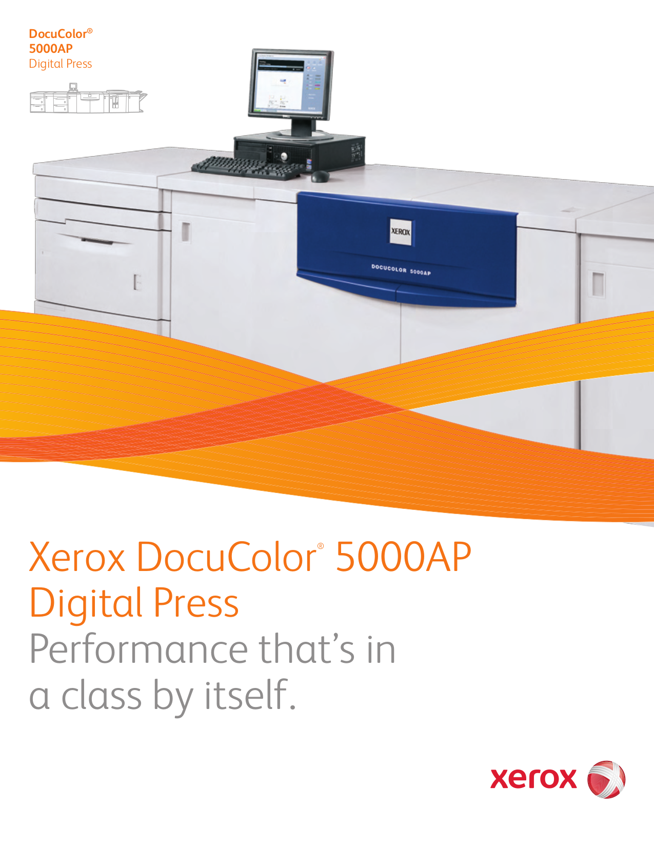Xerox Printer DocuColor 5000 pdf page preview ...