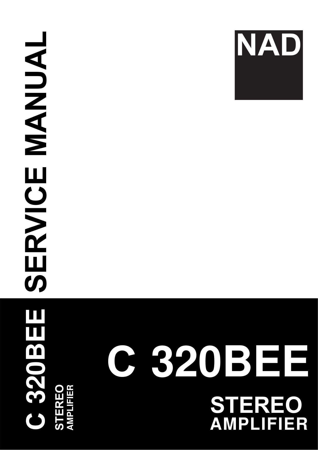 download free pdf for nad c320bee amp manual rh umlib com Repair Manuals nad c320bee user manual