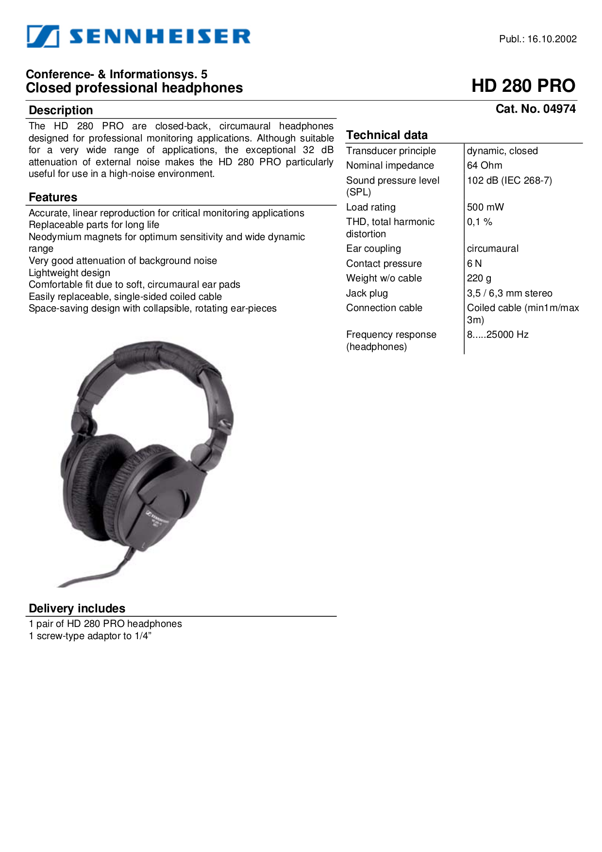hd 280pro.pdf 0 download free pdf for sennheiser hd 280 pro headphone manual sennheiser hd 280 wiring diagram at edmiracle.co