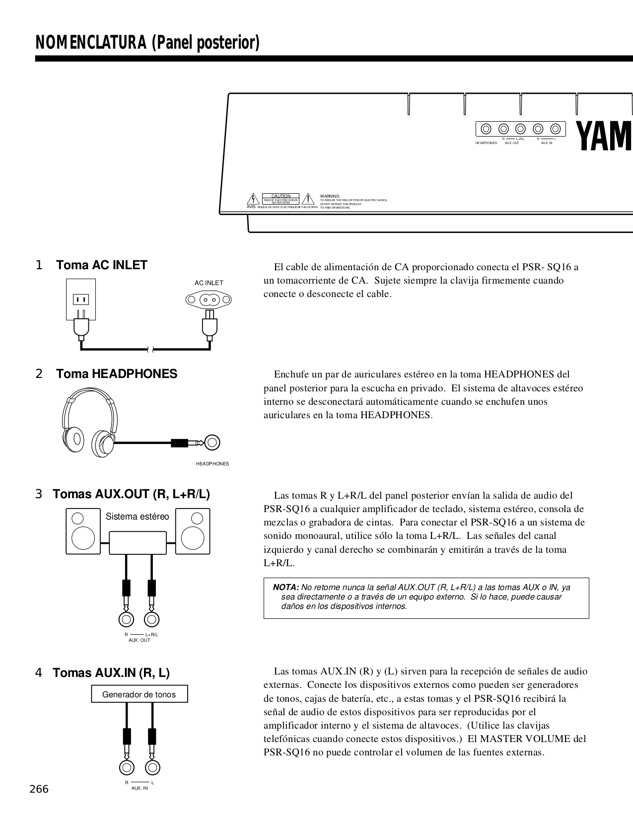 Yamaha Psr Sq