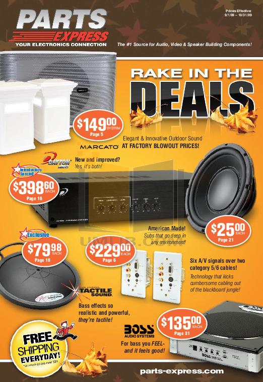 pdf for Dayton Speaker ES80 manual