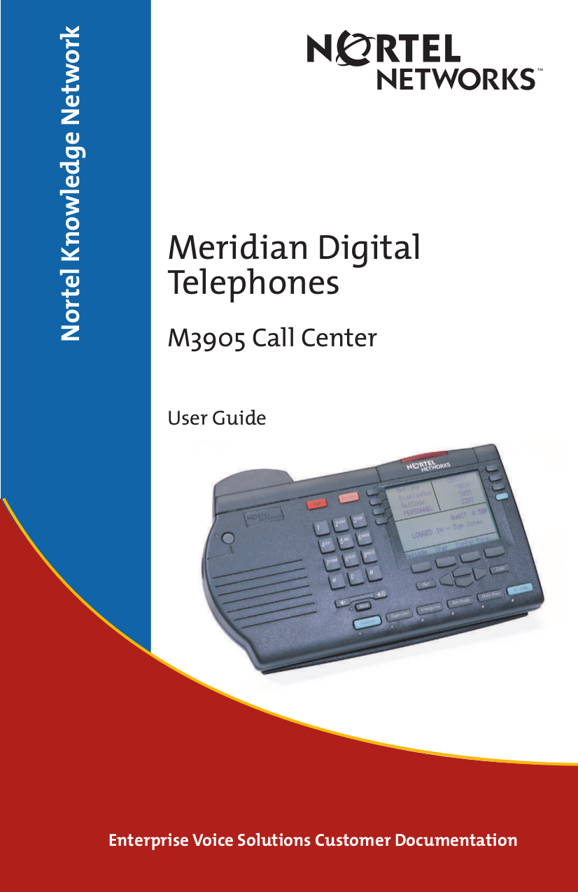 pdf manual for nortel telephone call center