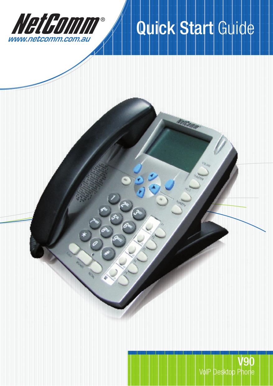 pdf for Netcomm Telephone V90 manual