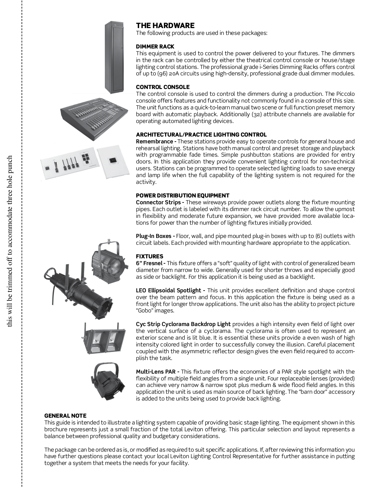 Download Free Pdf For Leviton Lel36 Spotlights Other Manual Black Box Stage Diagram Theater Would Need To Be Larger