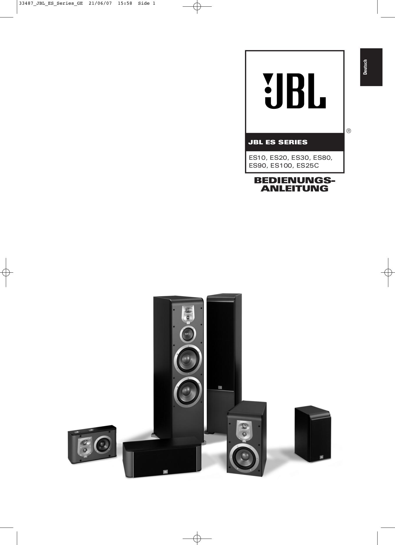 download free pdf for jbl tlx center 2 speaker manual. Black Bedroom Furniture Sets. Home Design Ideas