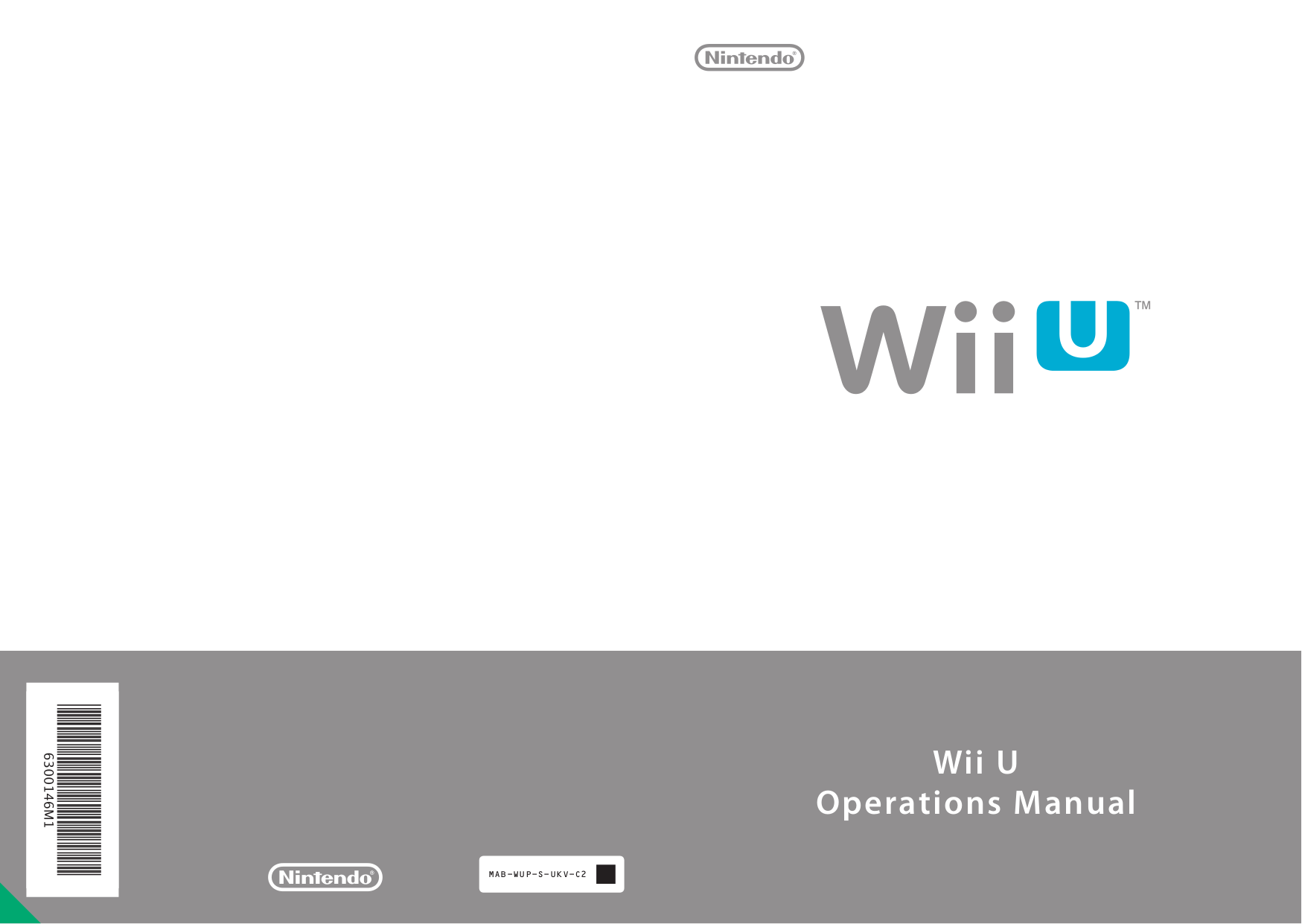pdf for Nintendo Game Console Wii manual