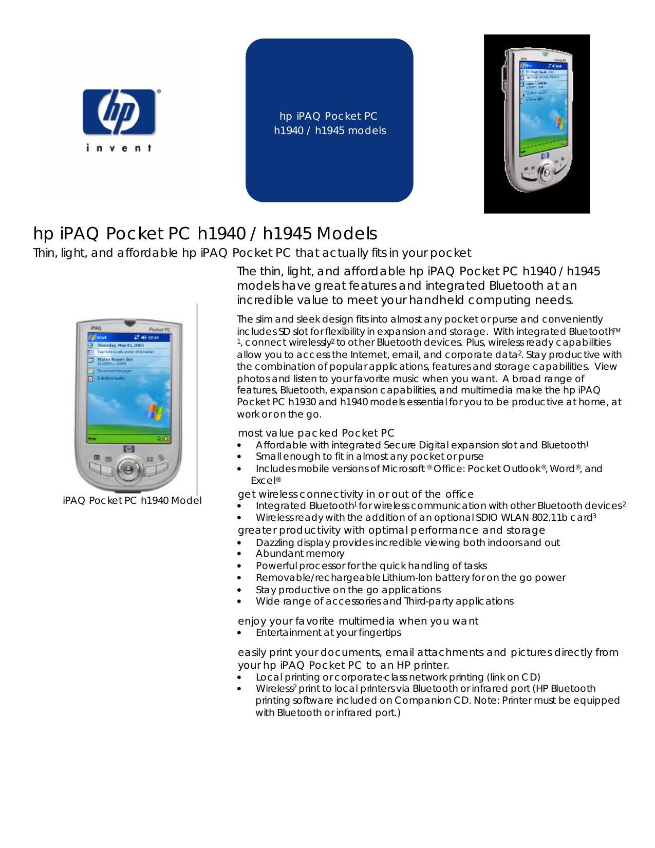 ... Array - download free pdf for hp ipaq h1945 pda manual rh umlib com