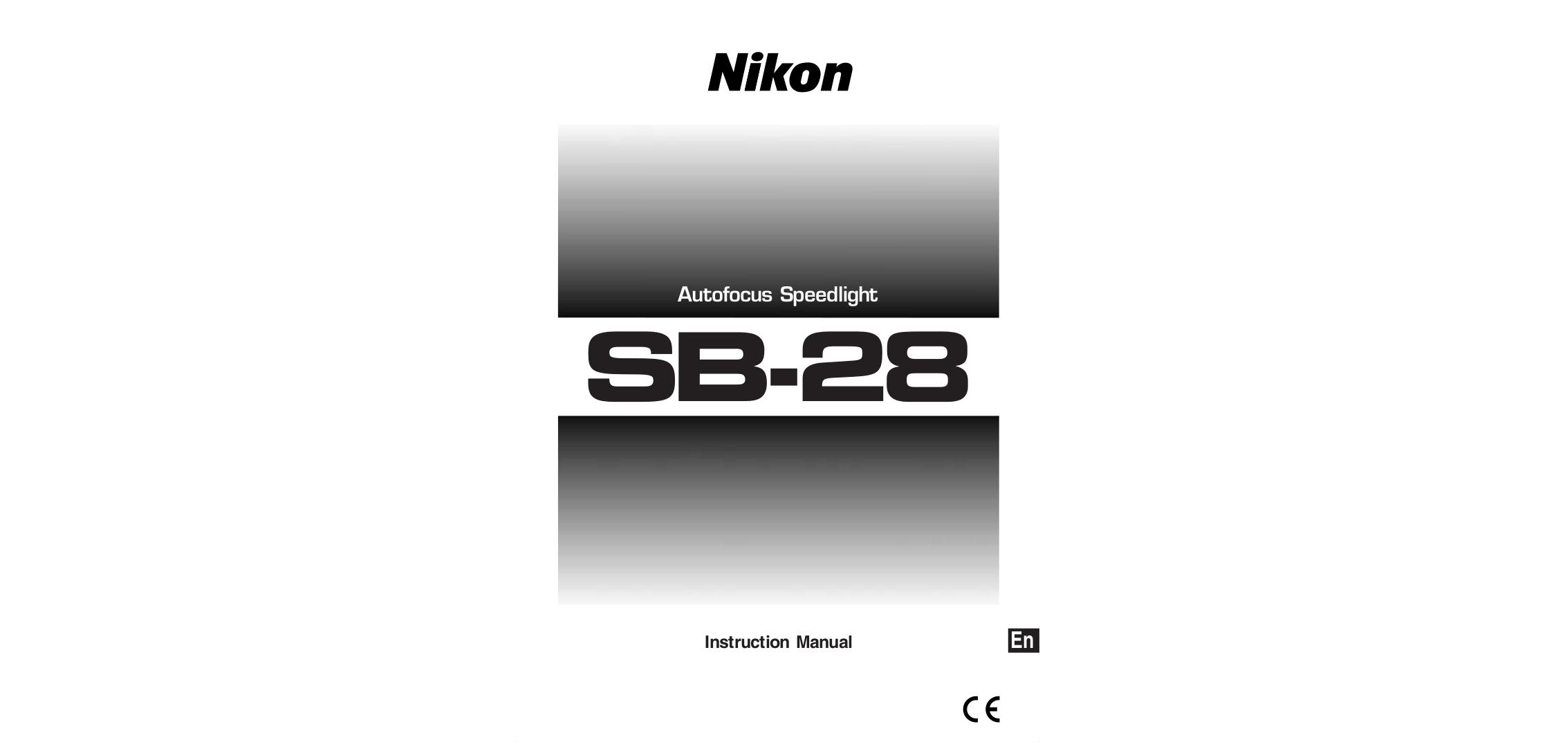 pdf for Nikon Other SB-26 Camera Speedlights manual