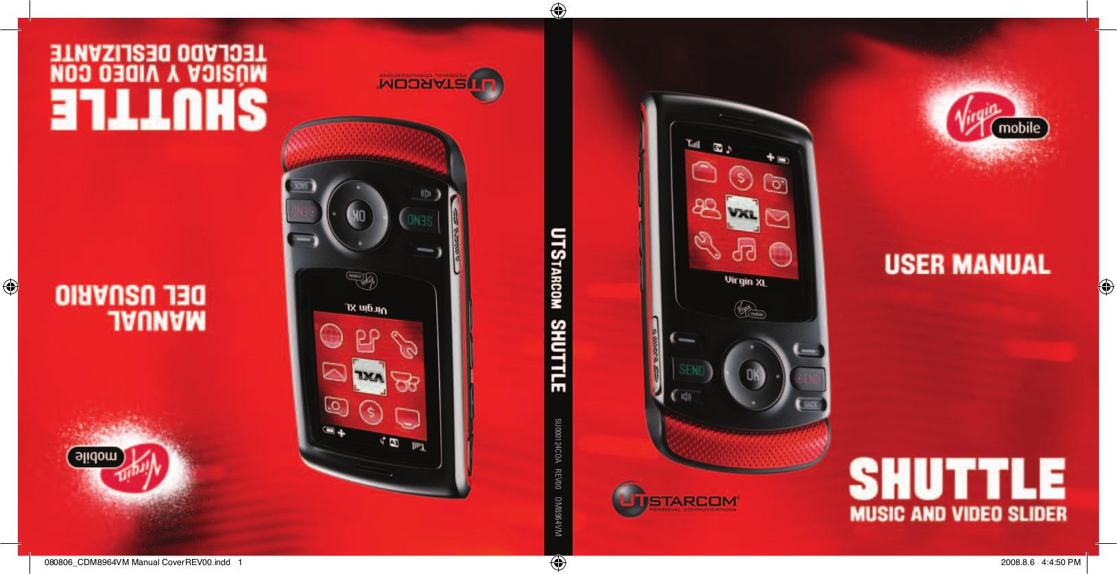 pdf for Utstar Cell Phone CDM8910 manual
