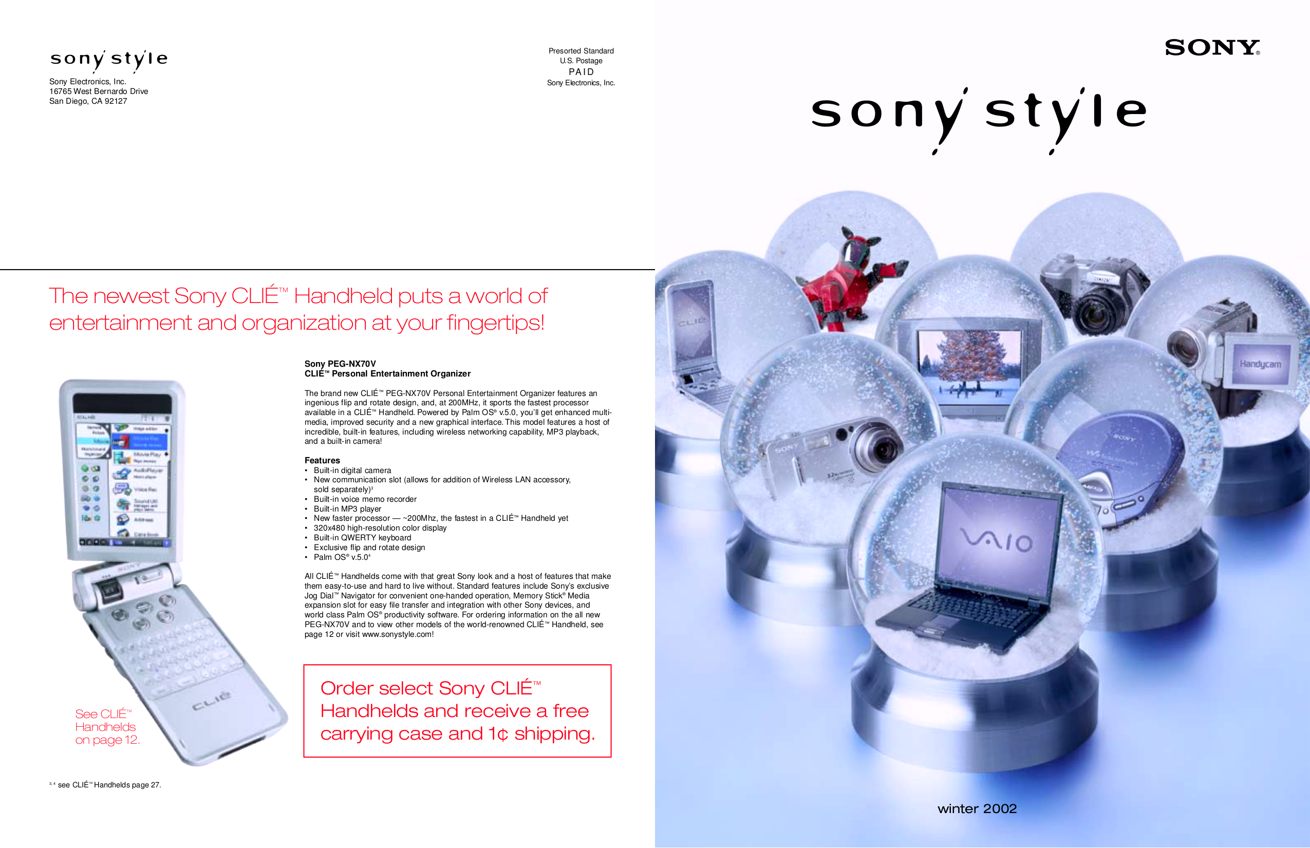 pdf for Sony Monitor SDM-X72 manual