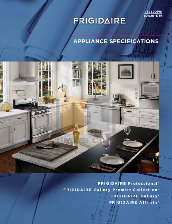 pdf for Frigidaire Dryer FAQG7073K manual