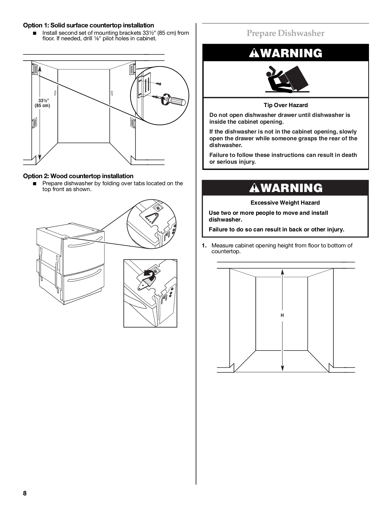 Kitchenaid Double Drawer Dishwasher User Manual - Kitchen Design