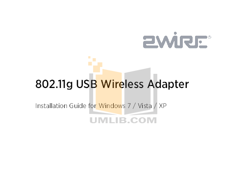 pdf for 2wire Other Wireless USB Adapter Adapter manual