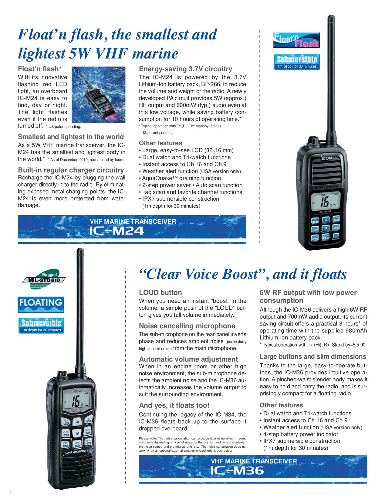 ... ICOM Other IC-M504 Radio-Marine pdf page preview ...