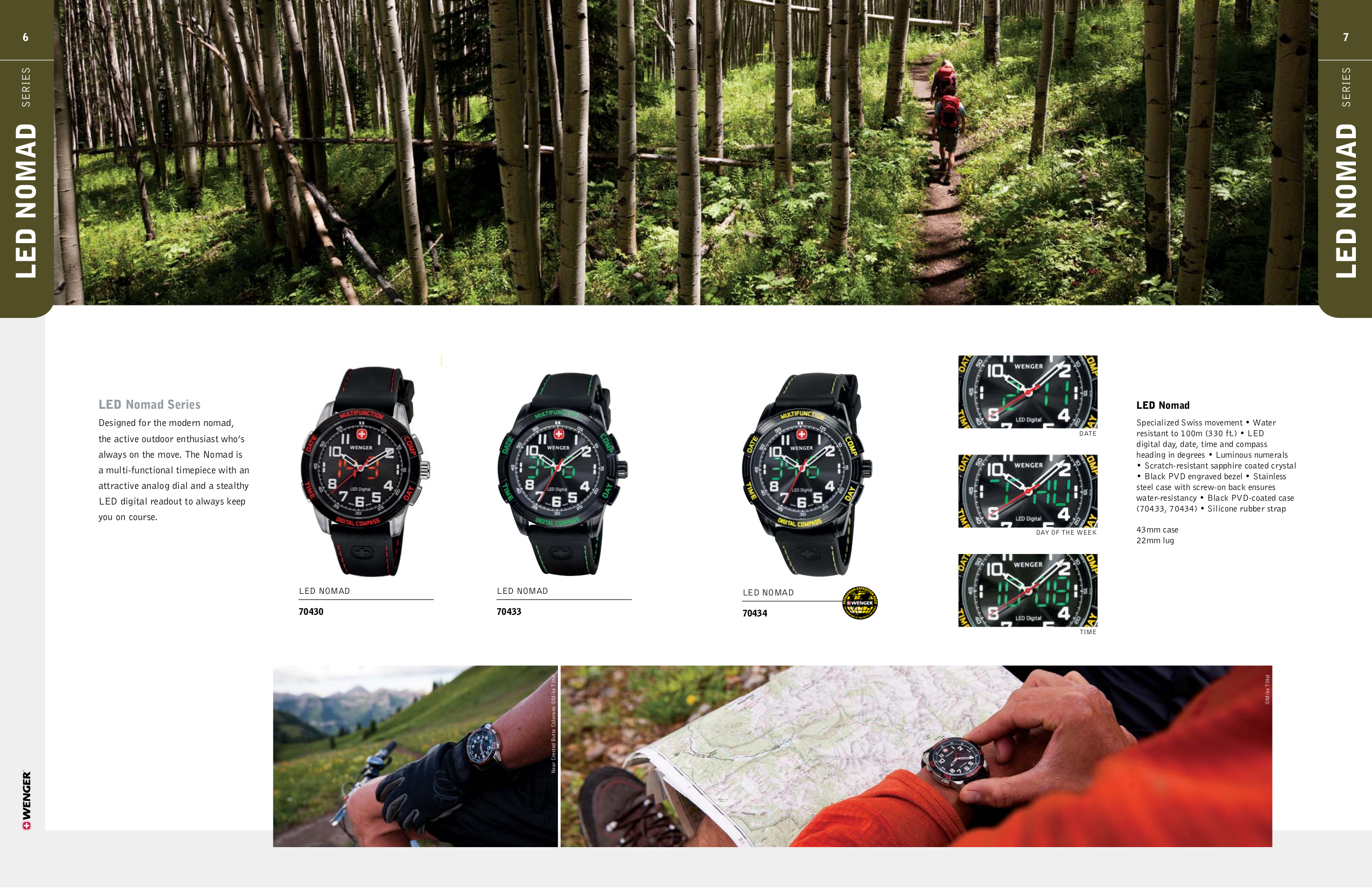 Wenger Watch 70873 pdf page preview