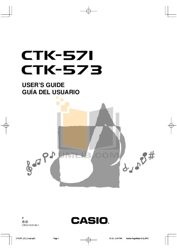 Casio ctk 550 manual.