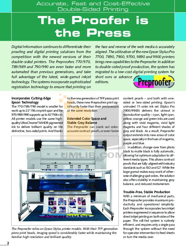 pdf for Epson Printer Stylus Pro 9890 manual