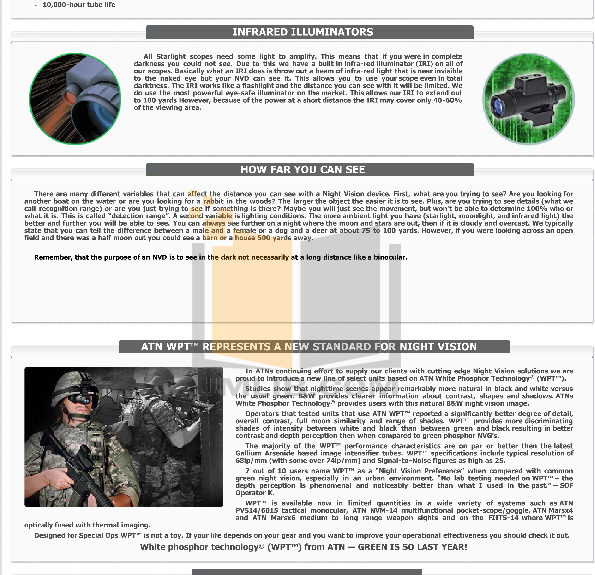 Atn Binocular Night Shadow CGT pdf page preview