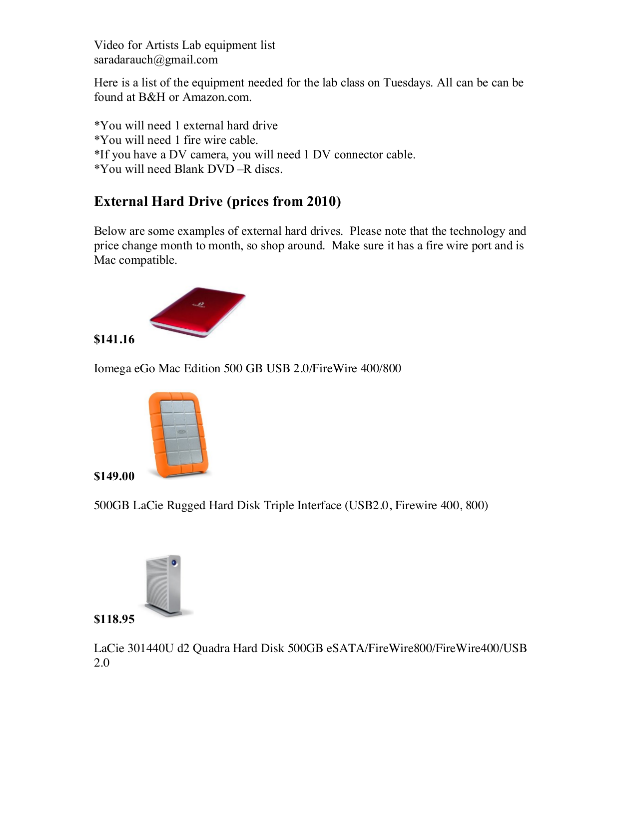 pdf for LaCie Storage 301440U manual