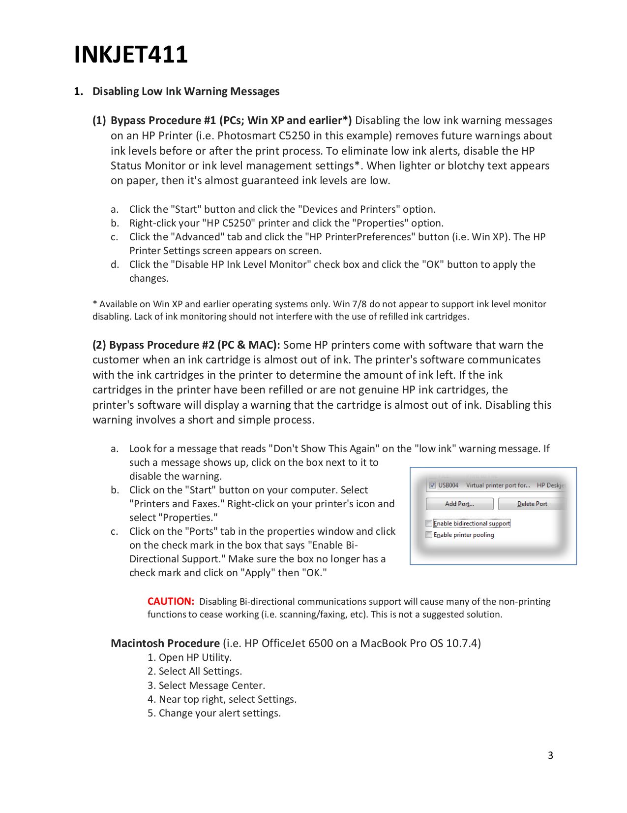 PDF manual for HP Printer Deskjet 5740