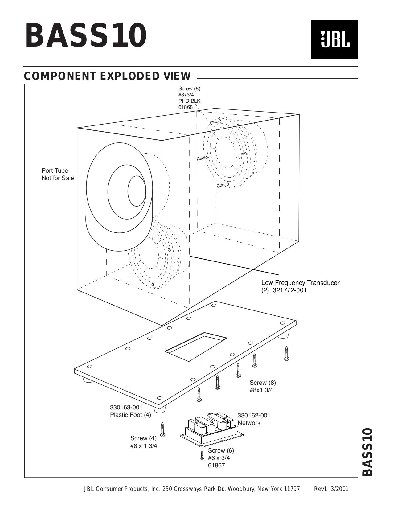 pdf manual for jbl subwoofer css10 rh umlib com