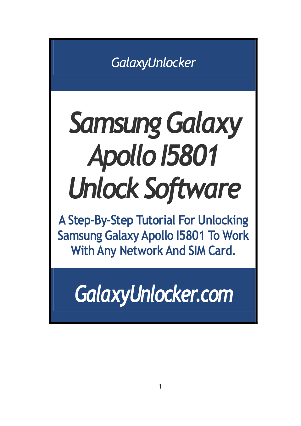 pdf for Samsung Cell Phone Galaxy Apollo manual
