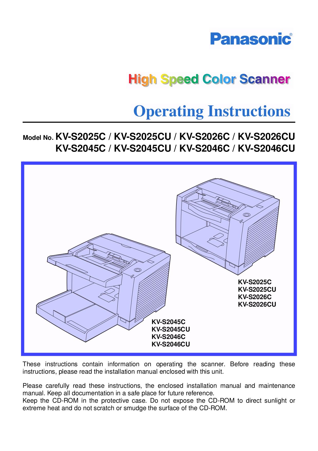 download free pdf for panasonic kv s2026c scanner manual rh umlib com Panasonic 2 Way Radio Panasonic 2 Way Radio