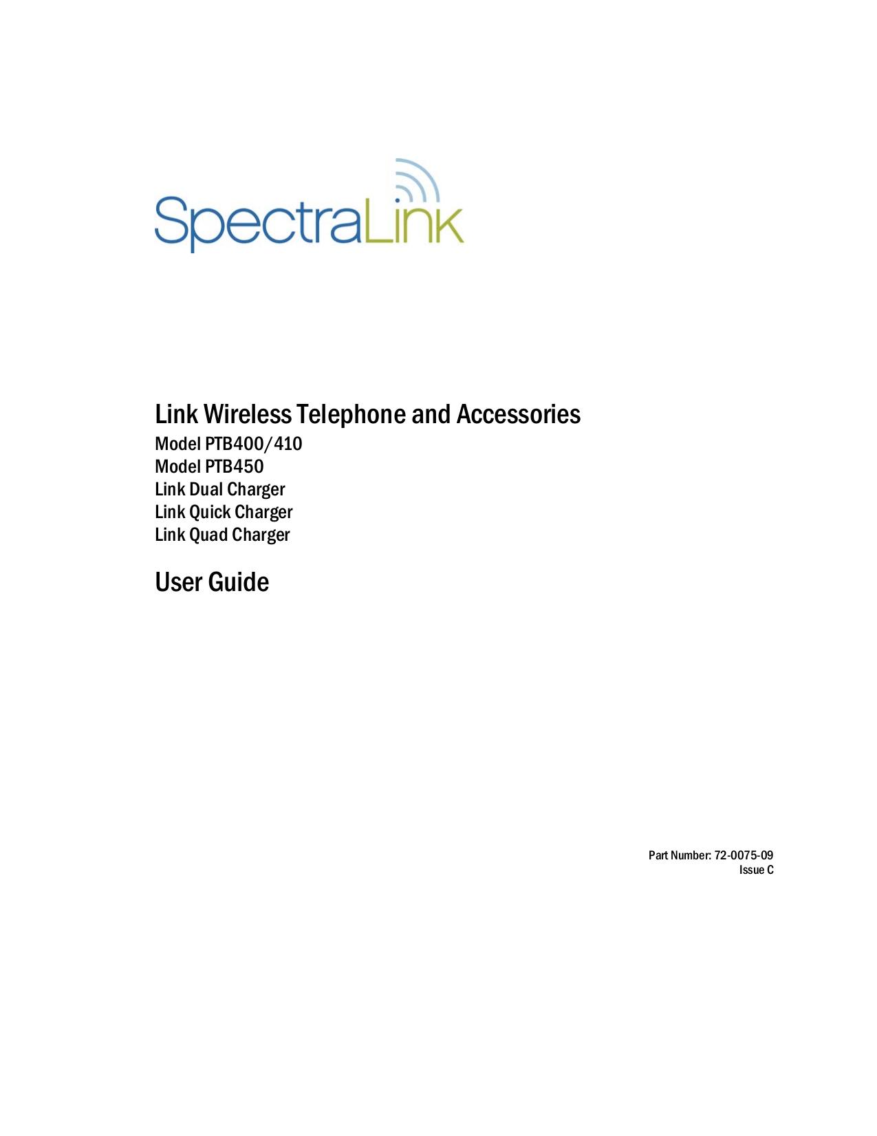 download free pdf for spectralink ptb410 telephone manual rh umlib com Online User Guide User Guide Icon