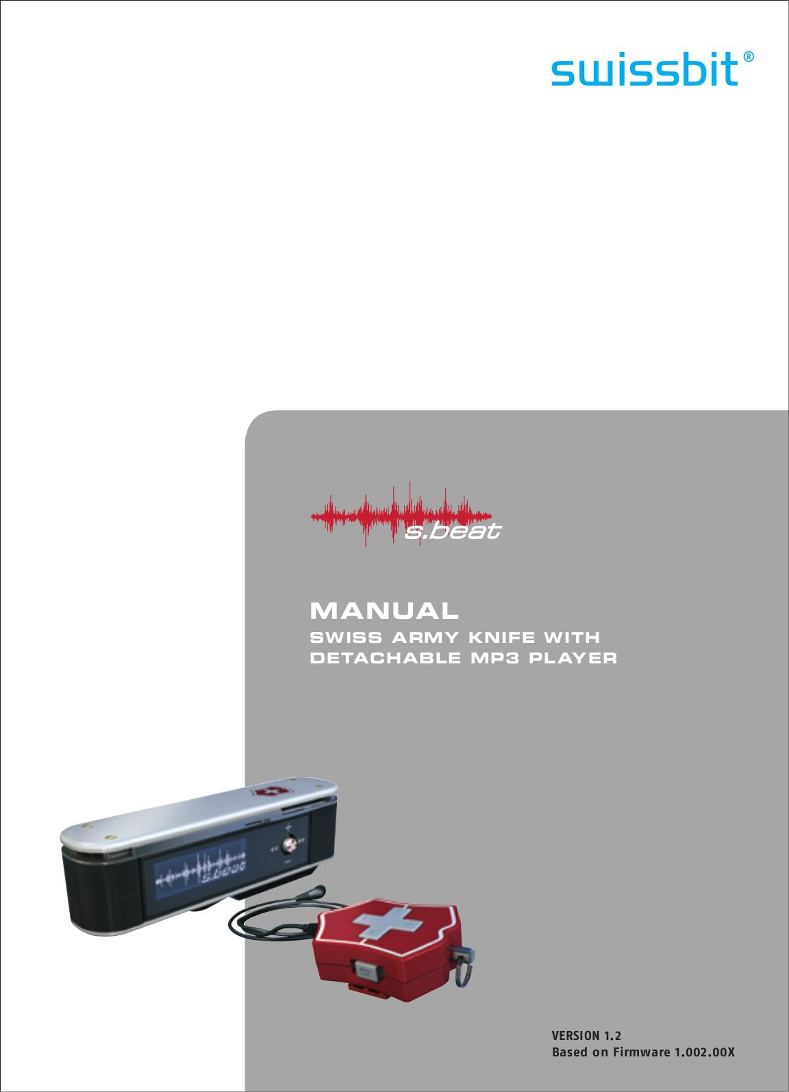 pdf for Victorinox Storage SwissMemory SwissMemory 1GB manual