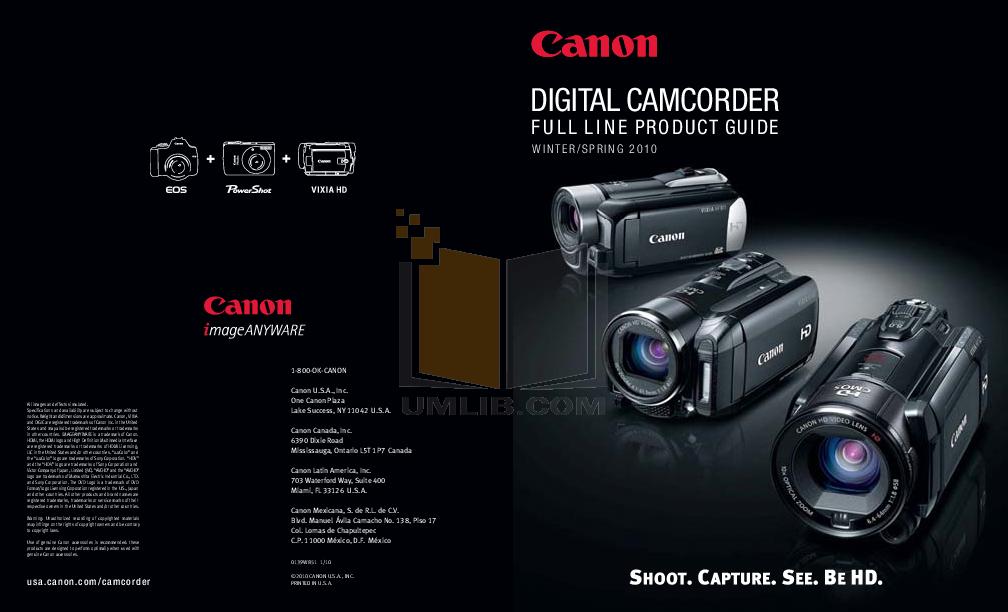 download free pdf for canon vixia hv40 camcorders manual rh umlib com Canon Vixia HF20 Canon VIXIA HF M30