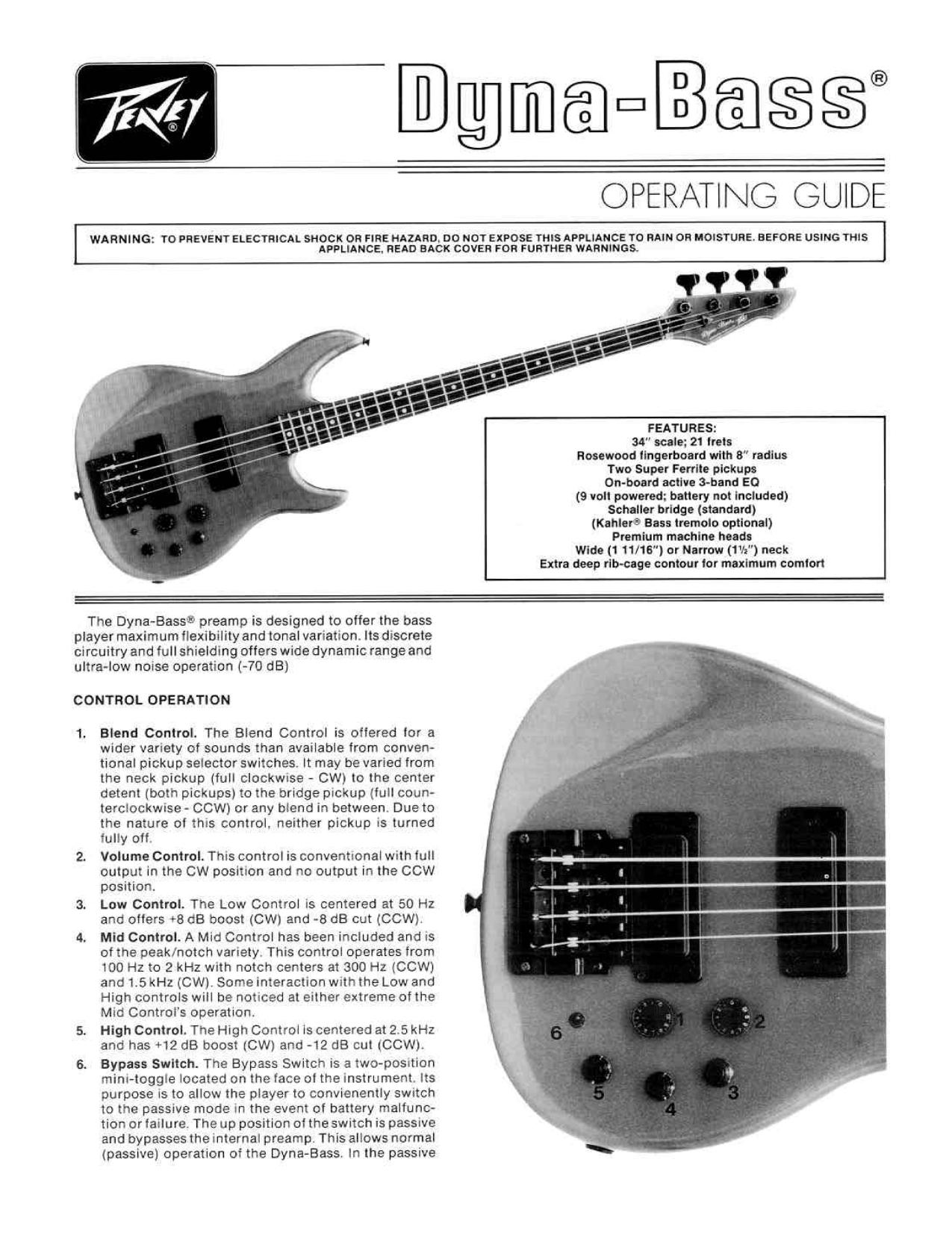 Beautiful Peavey Predator Guitar Wiring Diagrams Component ...