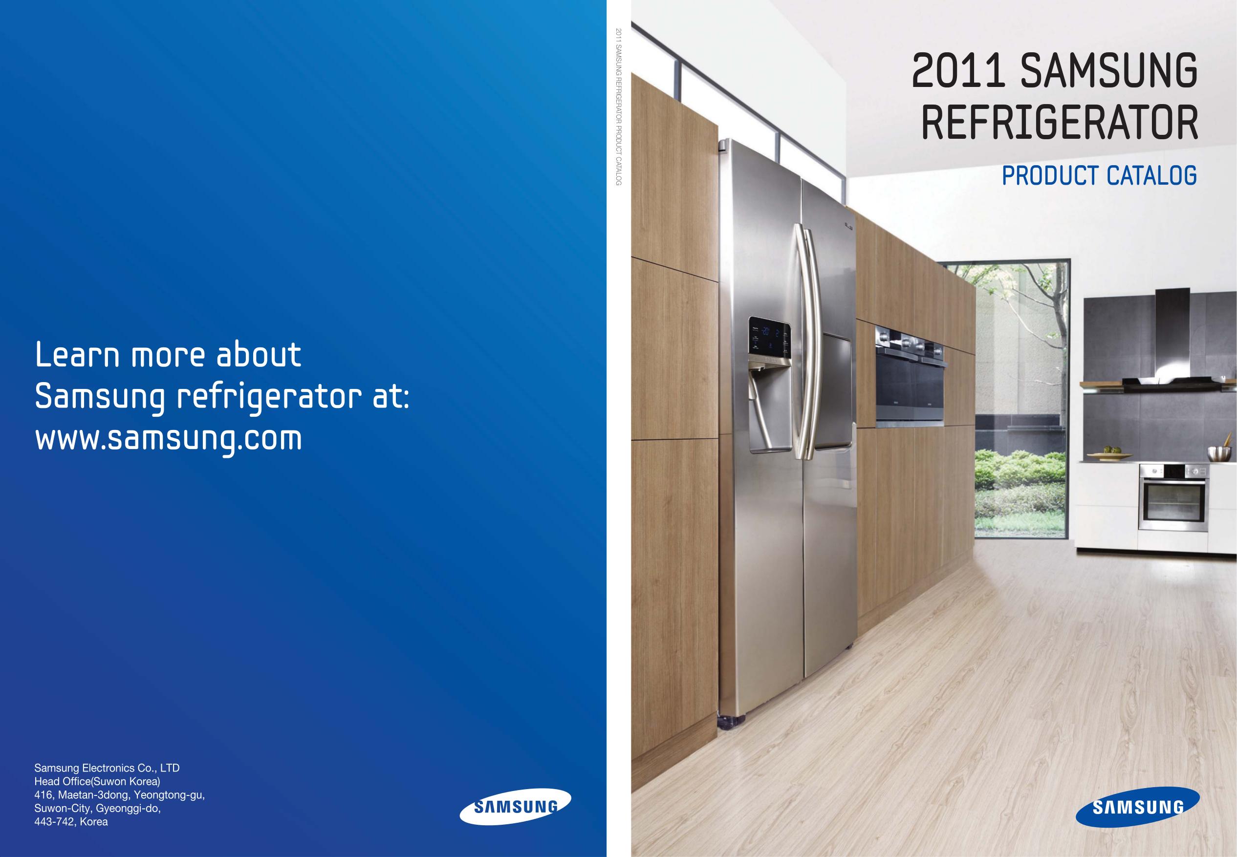 pdf for Samsung Refrigerator RS267TDRS manual