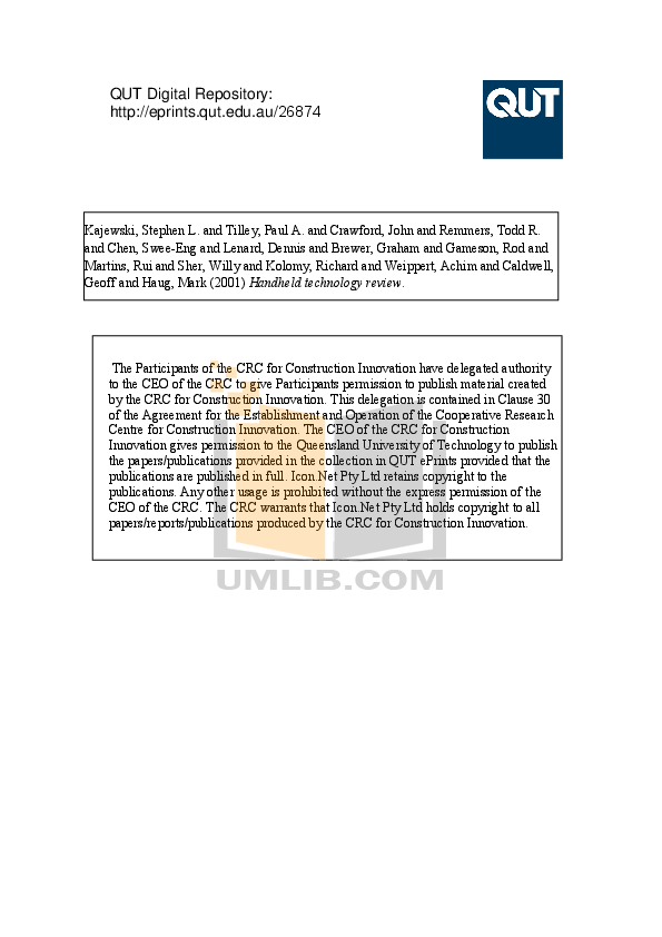 pdf for Casio PDA Cassiopeia IT-700 manual