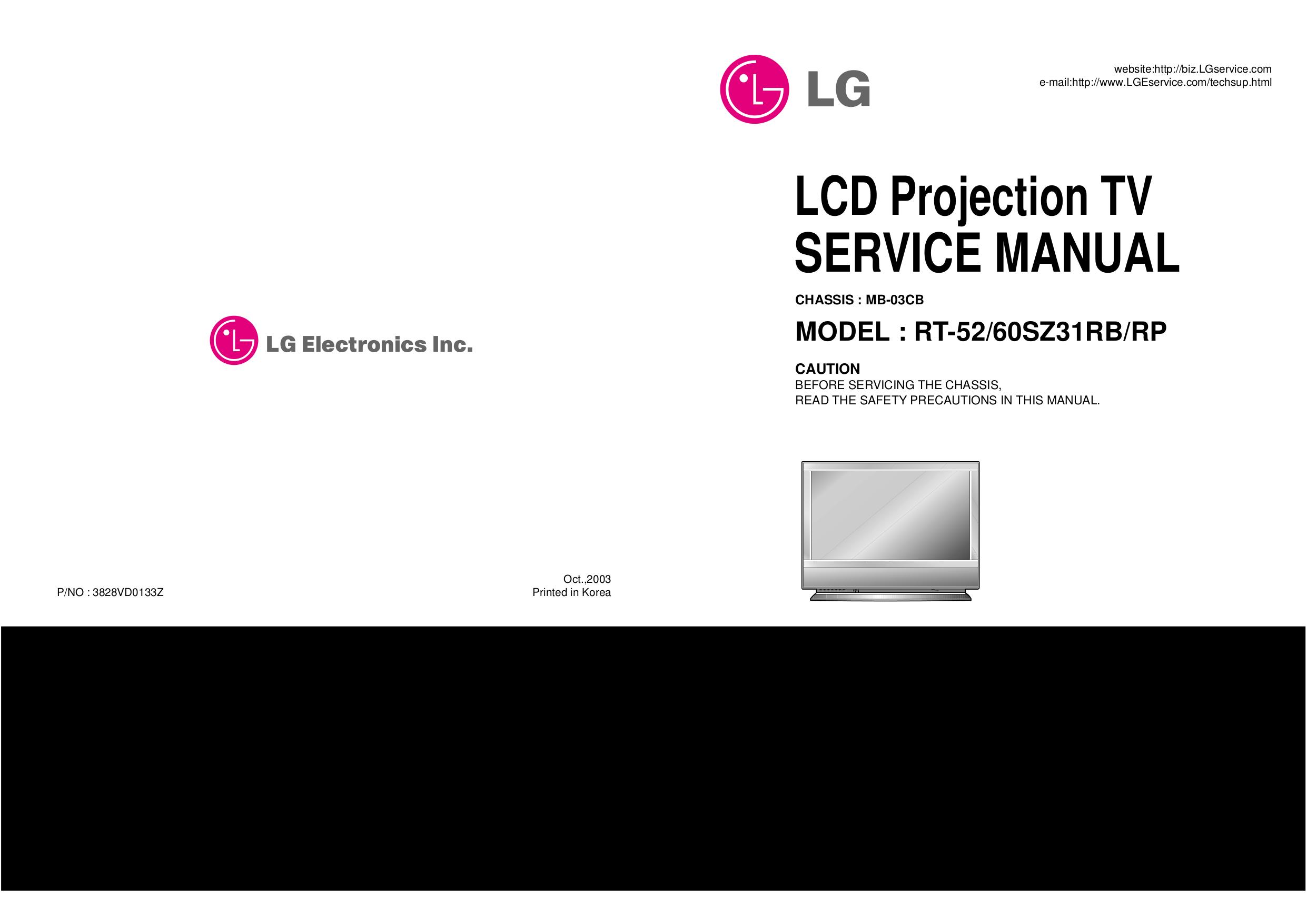 pdf for LG TV RU-60SZ30 manual