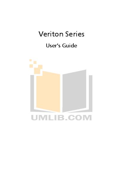 pdf for Acer Desktop Veriton 1000 manual