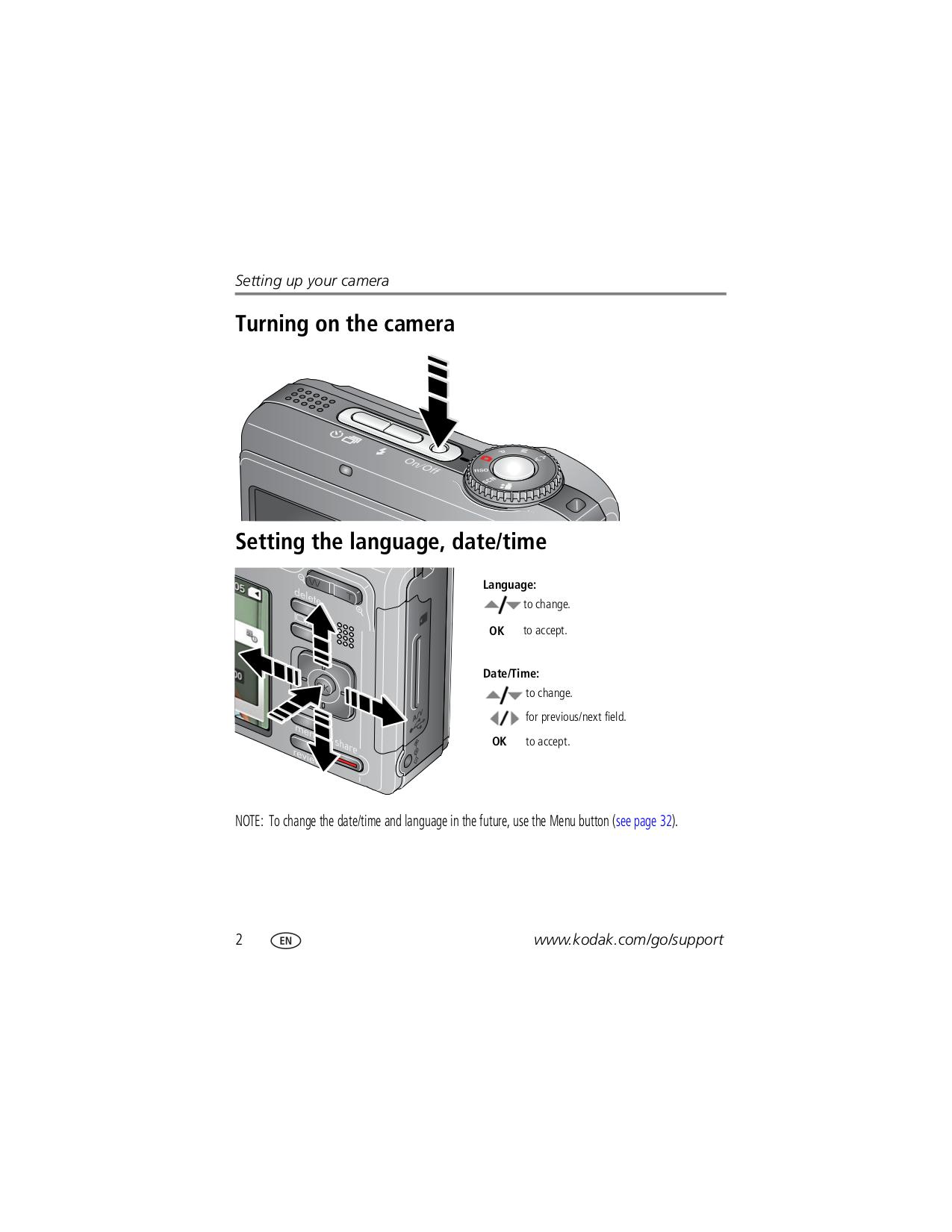 Kodak Digital Camera EasyShare Z1485 pdf page preview