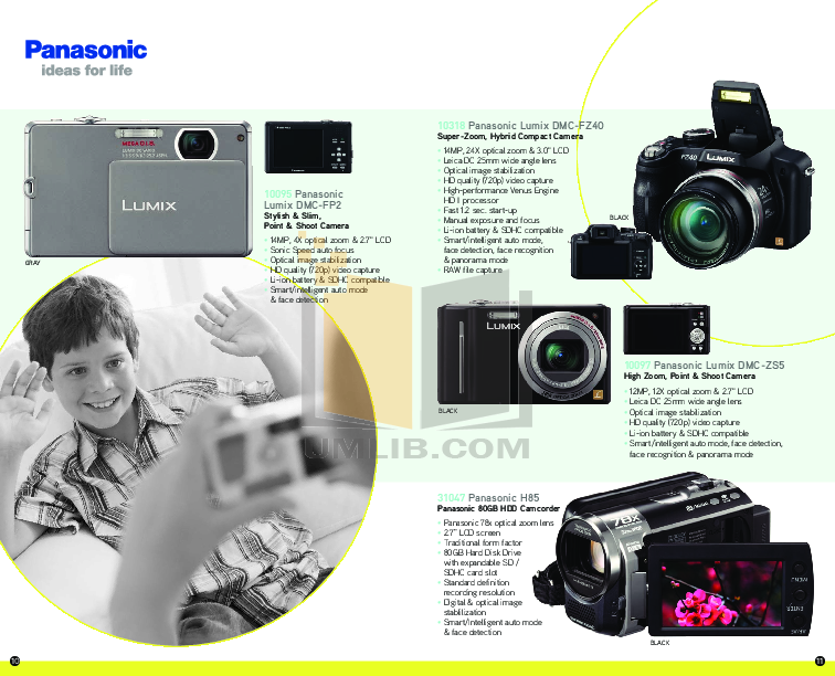 Canon Digital Camera Powershot SD1400 IS pdf page preview