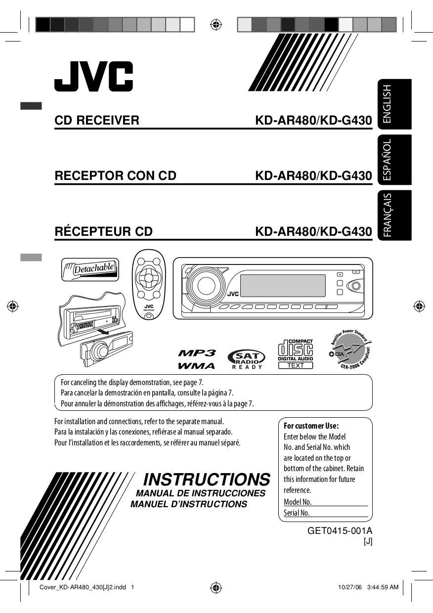 GET0415 001A.pdf 0 download free pdf for jvc kd ar480 car receiver manual jvc kw-nt1 wiring diagram at honlapkeszites.co