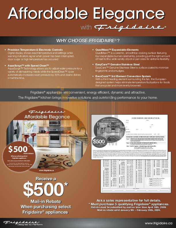 pdf for Frigidaire Refrigerator Gallery GLHS66EJSB manual