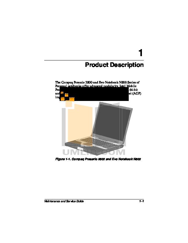 Pdf Manual For Hp Laptop Compaq Presario Presario 2869