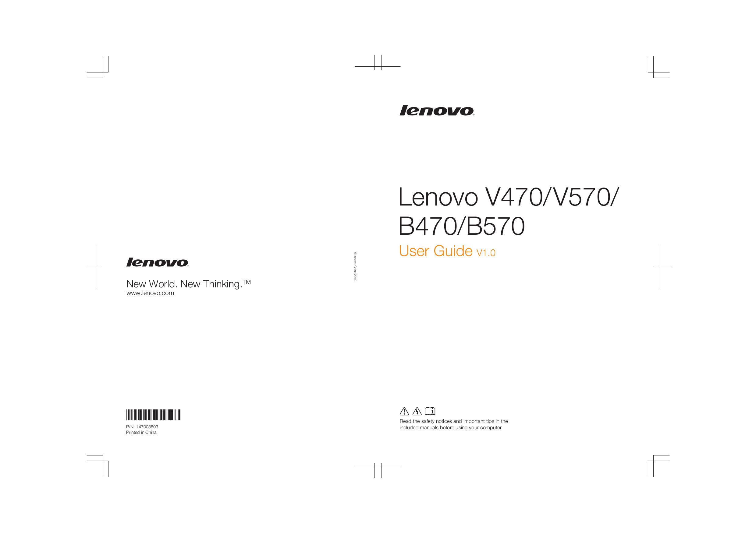 v570 lenovo manual for