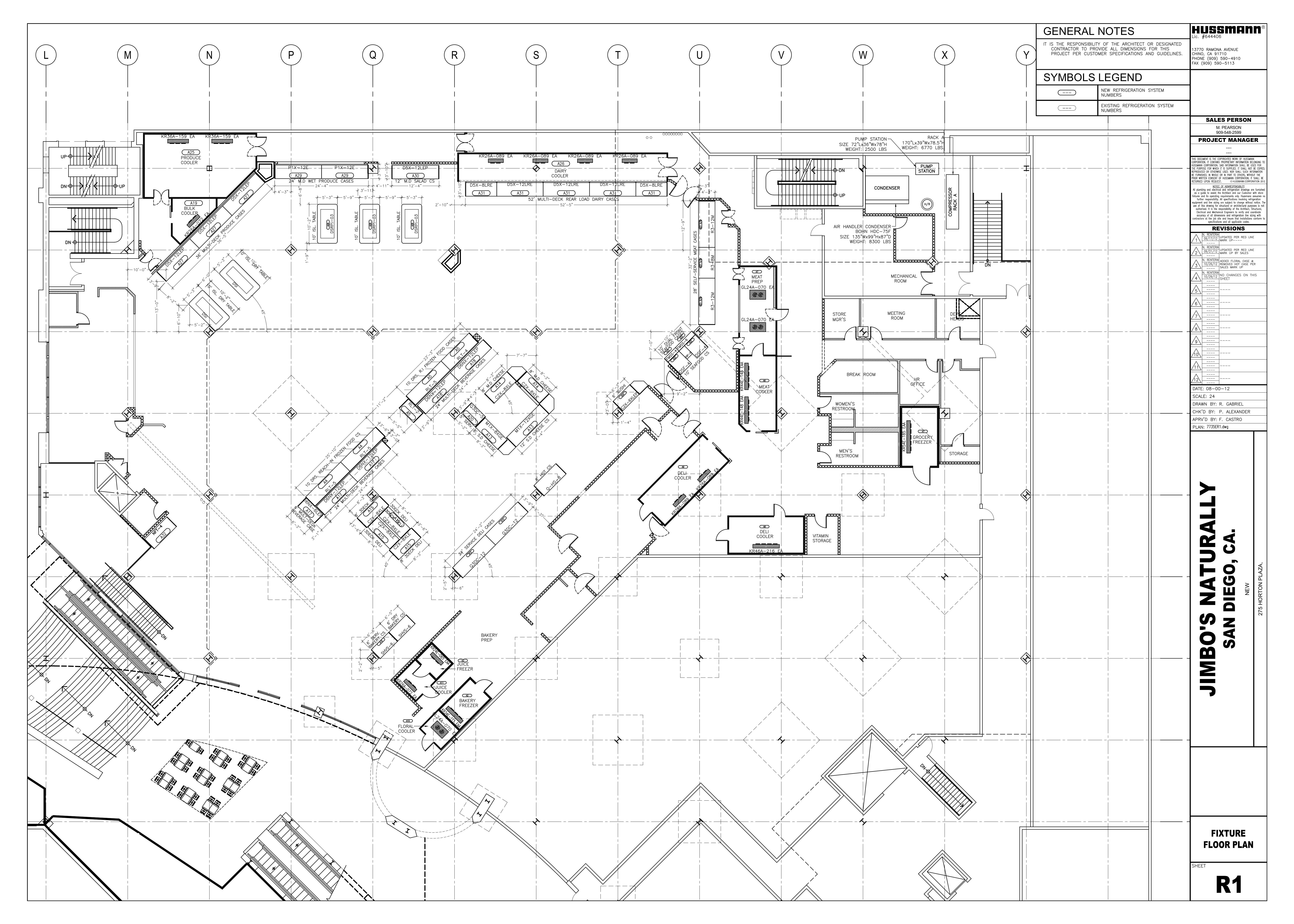 pdf for Hussmann Freezer FMSS-L manual