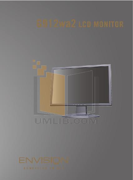 pdf for Envision Monitor G912wa2 manual
