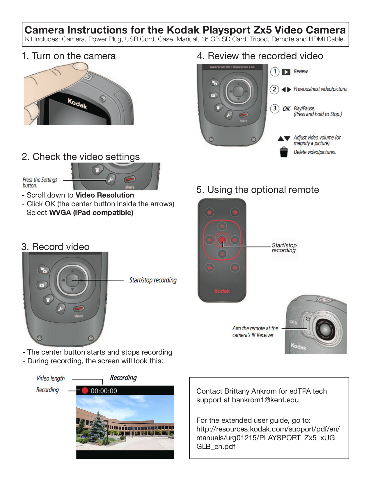 download free pdf for kodak playsport camcorders manual rh umlib com Kodak EasyShare Camera Kodak Waterproof Camcorder