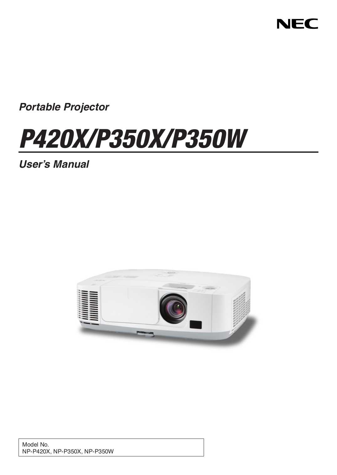 download free pdf for nec np p350w projector manual rh umlib com nec v260 user manual nec v260 user manual